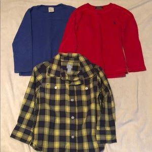 Boys 3t dressy long sleeve shirts
